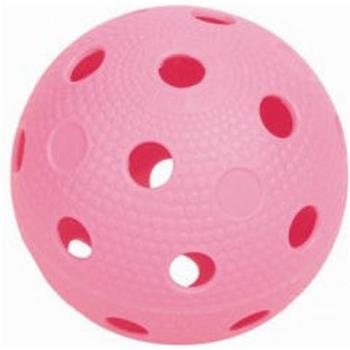 мяч для флорбола розовый