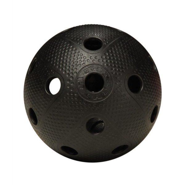 мяч для флорбола черный